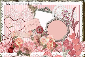 My Romance Clip Art & Element Pack49