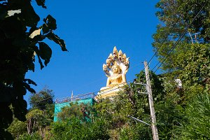 One of 7 level in Wat Thaton temple