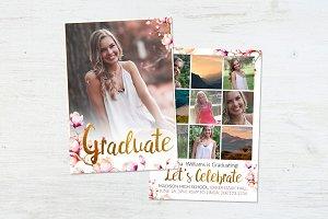 Graduation Template | Magnolia