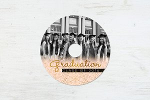 CD Label Templates | Graduation Day