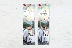 Bookmark Template | Save the Date