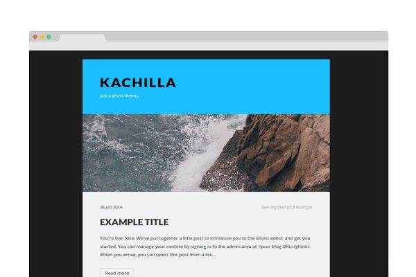 Ghost Themes - Kachilla