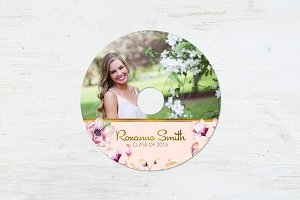 CD Template | Graduation Princess