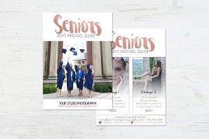 Price list | Seniors