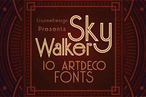 Skywalker - ArtDeco Typeface