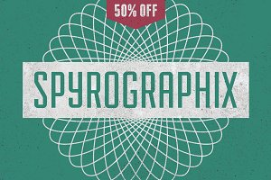 24 Spirograph-like shapes