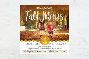 Marketing Board | Cozy Autumn