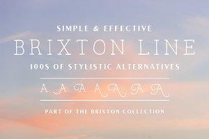 Brixton Line (+Stylistic Alts)