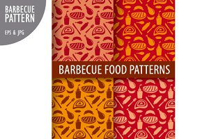 Barbecue Food Pattern