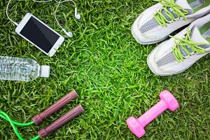Fitness concept with Exercise