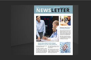 Letter & US Letter Newsletter