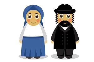 Jewish couple people