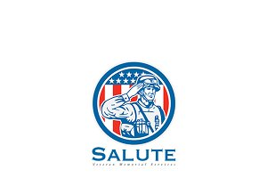 Salute Veteran Memorial Services Log