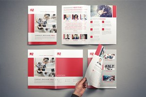 Company Brochure Template Vol.1