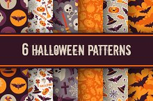 6 Halloween Patterns