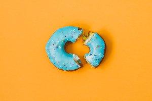 broken donut