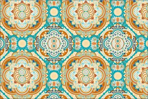 Seamless fantastic pattern