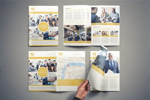 Company Brochure Template Vol.4