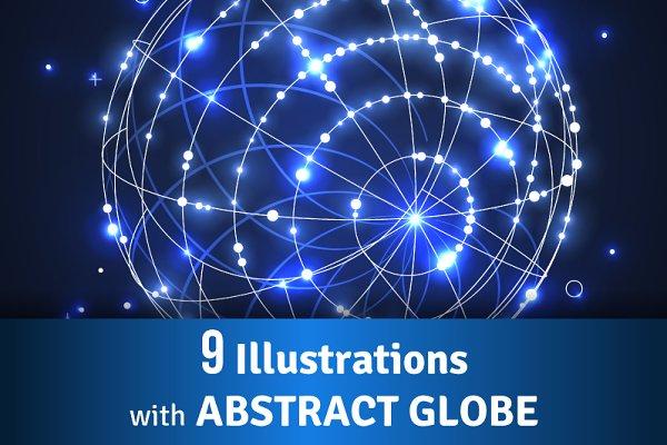 Abstract Globes Bundle