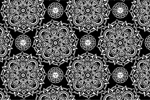 Seamless mistical pattern