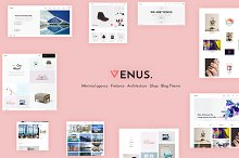 Venus - Multipurpose WordPress Theme