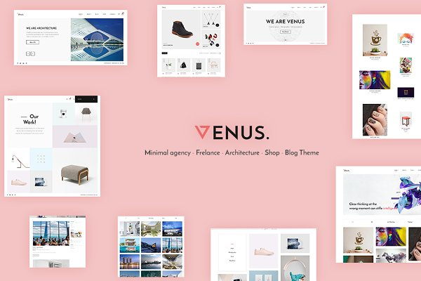 WordPress Business Themes: wiloke - Venus - Multipurpose WordPress Theme
