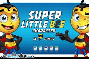 Super Little Bee - In 9 Poses