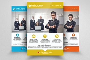 Business Industry Flyer Template