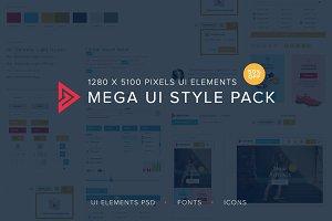 Mega UI style pack - 50% off!!!