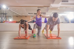 fitness instructor training showing