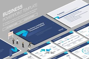 Business Powerpoint Template vol.6