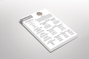 Enron Resume Template