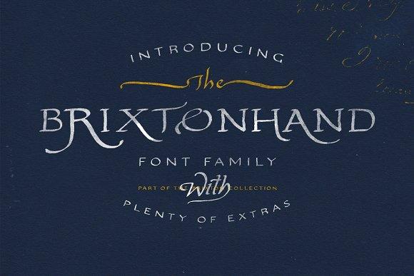 Brixton Hand (Plus Sans & Extras!)