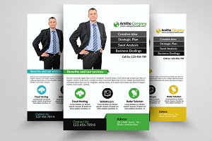 Business Industrist Flyer Template