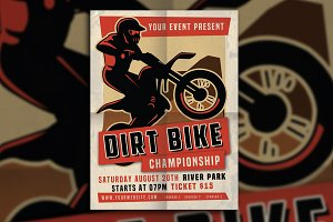 Dirt Bike Motorcross Championship