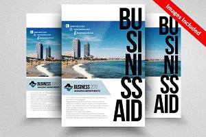Business Flyer Psd Template