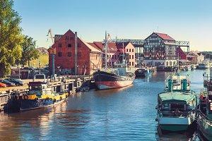 Ships and boats, Klaipeda, Lithuania