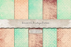 Printable Papers - Beach Breeze