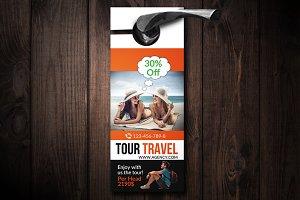 Tour travel Agency Door Hanger