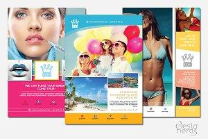 Multipurpose 3 flyers bundle