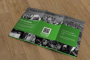 Trifold corporate brochure -V32