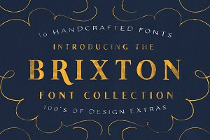 The Brixton Collection (16 Fonts)