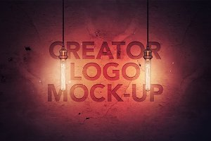 Creator Logo Mock-up / Light Edition