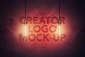 Creator Logo Mock-up / Light Edition