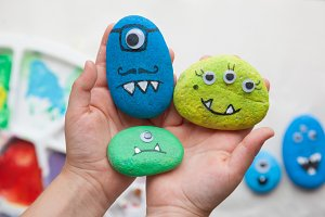 Monster family craft