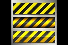 Danger and Police Warning Lines