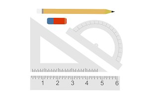 Education set. Vector