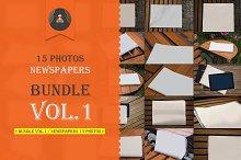 Bundle vol.1 / Newspapers 15 photos