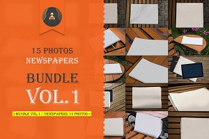 Bundle vol.1 / Newspapers 15 photos