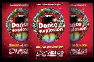 Dance Explosion Flyer